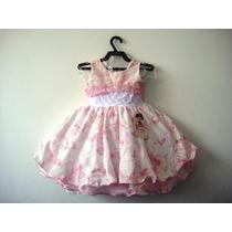 Lindo Vestido Infantil Festa 1049/7- Bambina Frete Grátis