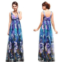 Vestido Importado Ever Pretty - Pronta Entrega Floral Lindo