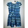 Vestido Azul Cetim Lilica Ripilica Original Semi-novo Tam 8