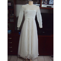 Vestido De Noiva Com Renda E Com Brilho Tamanho P