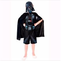 Fantasia Infantil Darth Vader Curto Importado Exclusiva