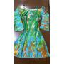 Vestido Casual Curto Detalhes C/botões E Ombros Vazados