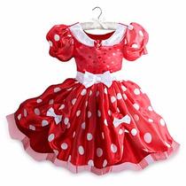 Fantasia Disney Minnie Vermelha Original P Entrega