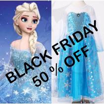 Vestido Princesa Anna - Fantasia Elsa Frozen Pronta Entrega