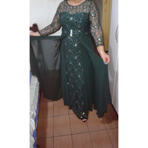 Vestido Festa Verde