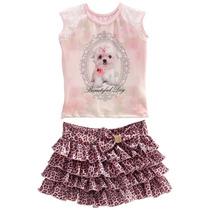 Vestido Festa Infantil Rosa Branco Amarelo De Luxo Tamanho06