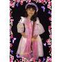 Vestido Da Rapunzel Fantasia De Princesa - Enrolados - Luxo