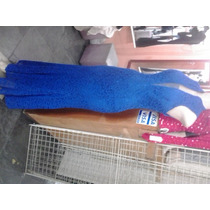 Vestido Azul Roial Renda Brilhosa