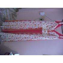 Lindo Vestido Florido Vermelho