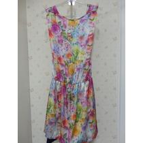 Vestido Estampado - Tecido - Estampa Floral - Vestido