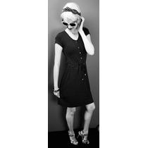 Vestido De Bolinha - Pronta Entrega - Carmoni Confecções
