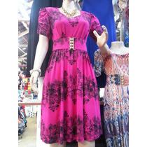 Vestido Moda Evangélica De Viscolycra