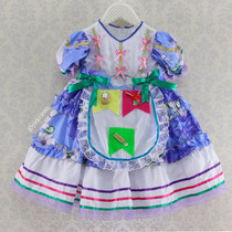 Vestido Festa Junina Infantil Menina Caipira Chic (cpc810)