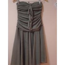 Vestido Rodado Listras Retrô Romântico P 38 36 40 42 Laço