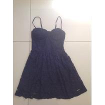 Vestido Renda Abercrombie Tam M(confecçao Pequena) Original