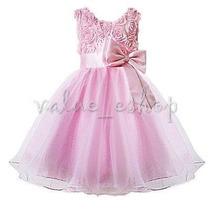 Vestido Crianca Meninas Festa Casamento Estilo Princesas