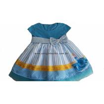 Vestido Infantil Festa Cinderela 6 Anos - Pronta Entrega