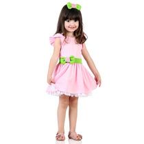 Vestido Fantasia Moranguinho Baby