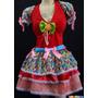 Vestido De Festa Junina Caipira Quadrilha Junino 36 Ao 52