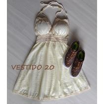 Vestido Renda Rodado Balada Festa Casual Reveillon Verão
