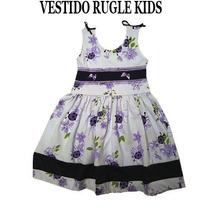 Atacado!!!10 Vestidos Infantil 290,00 Lindos