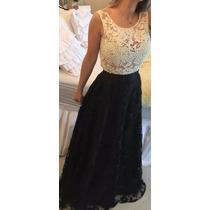 Maravilhoso Vestido Em Renda Festa,casamento,formatura,guipi