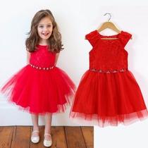 Vestido Infantil Moda Festa