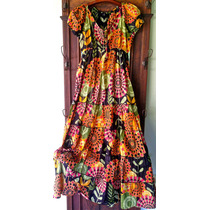 Vestido Tipo Frida Longo, Boho, Hippiechic, Floridos!!!
