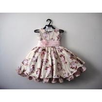 Vestido Infantil Festa Luxo 1048 - Bambina Fashion Promoção!