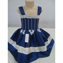 Vestidos De Festa Em Tecido Tafetá De 1 Ano!!! Modelo 022.