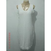 Lindo Vestido Em Crochê Tam: Único R$ 60,00