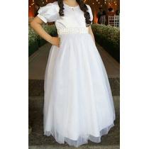 Vestido Infantil Noivinha, Formatura Tam 8 (muito Novo)...