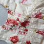 Vestido Infantil 4 5 6a Zara Girls Flor Algodao Forrado Luxo