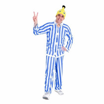 Fantasia Banana De Pijama Adulto B2 Sul Tam. G G ( 44 A 46)