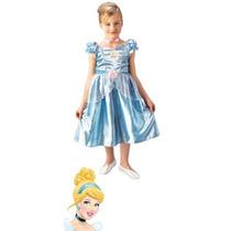Fantasia Vestido Disney Cinderela G (10 A 12 Anos)