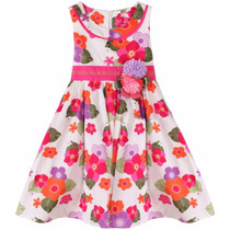 Vestido Festa Criança Aniversário Princesa Florista
