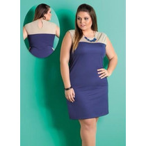 Vestido Promoçâo Plus Size - Roupa Gordinhas Lindas