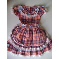 Vestido Camponesa Infantil