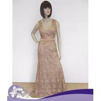 Vestido Casamento/madrinha/mãe De Noiva/p/entrega
