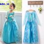 Fantasia Vestido Princesas Frozen Elsa Ou Anna! Promoção!!!
