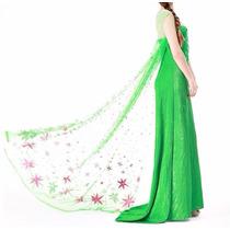 Fantasia Elsa Fever Frozen 2 Adulto Envio Internacional