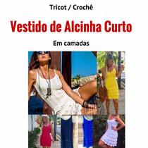Vestidocurtotricot De Alcinhaem Camadas /croche