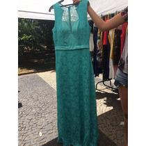 Vestido De Festa Verde Tifanny