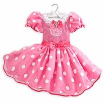 Fantasia Disney Minnie Rosa Original P Entrega
