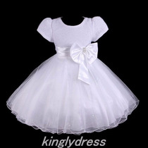 Vestido Luxo Infantil Tafetá Importado