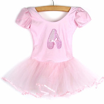 Vestido Fantasia Bailarina Luxo Infantil Rosa