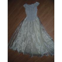 Vestido Branco Importado Festa, Reveillon, Noiva, 15 Anos M