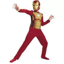 Fantasia Homem De Ferro Infantil Original Marvel Promocao