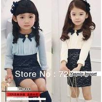Vestido Infantil Importado Ralph Lauren E Tiara