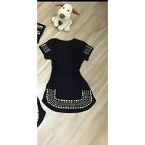 Vestido Pedraria Infantil 02 Ao 16